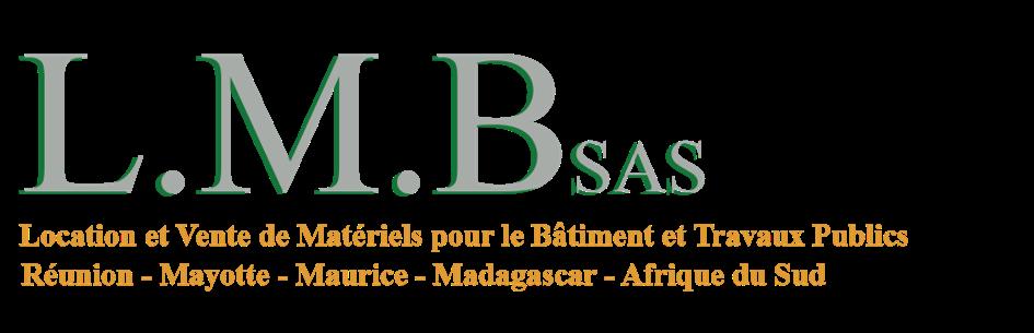 Logo LMB SAS, location et vente de matériels pour le BTP à La Réunion, Mayotte, Madagascar, Maurice, Afrique du Sud