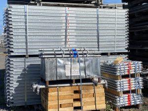 Echafaudages Metrix et Escaplus de la marque Altrad chez LMB SAS, location et vente de matériels pour le BTP à La Réunion